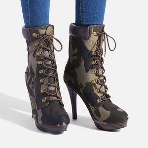 Daylene Stiletto Hiker Boot